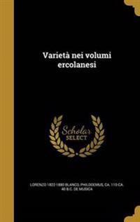 ITA-VARIETA NEI VOLUMI ERCOLAN