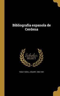 SPA-BIBLIOGRAFIA ESPANOLA DE C