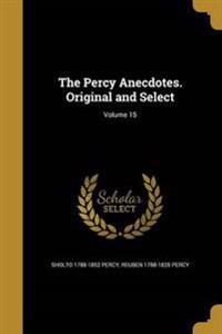 PERCY ANECDOTES ORIGINAL & SEL