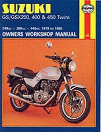Suzuki Gs/GSX250, 400 & 450 Twins (79 - 85)