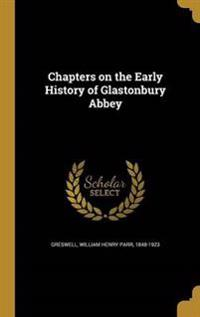 CHAPTERS ON THE EARLY HIST OF
