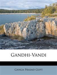 Gandhi-Vandi