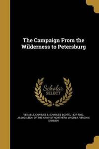 CAMPAIGN FROM THE WILDERNESS T