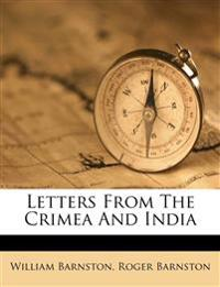 Letters From The Crimea And India