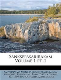 Sanksepasarirakam Volume 1 pt. 1