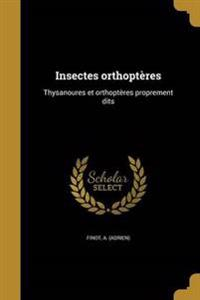FRE-INSECTES ORTHOPTERES