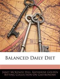 Balanced Daily Diet