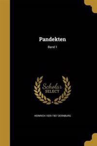 GER-PANDEKTEN BAND 1