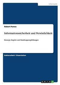 Informationssicherheit Und Personlichkeit