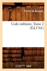 Code Militaire, Tome 2 (Ed.1761)