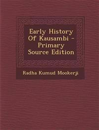 Early History Of Kausambi