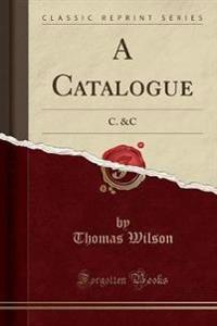 A Catalogue