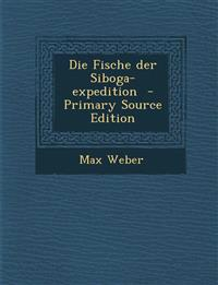 Die Fische der Siboga-expedition