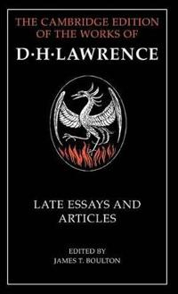 Late Essays and Articles