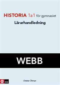 Historia 1a1 Lärarhandledning