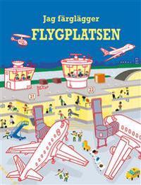 Jag färglägger : flygplatsen