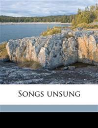 Songs unsung