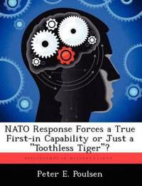 NATO Response Forces a True First-In Capability or Just a Toothless Tiger?