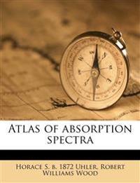 Atlas of absorption spectra