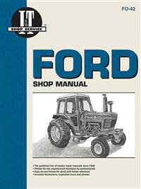 Ford Shop Manual Series 5000, 5600, 5610, 6600, 6610, 6700, 6710, 7000, 7600, 7610, 7700, 7710