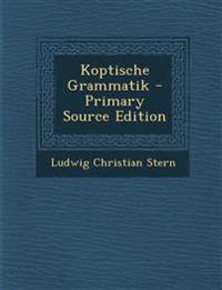 Koptische Grammatik