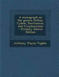A Monograph on the Genera Zethus, Cybele, Encrinurus, and Cryptonymus - Primary Source Edition