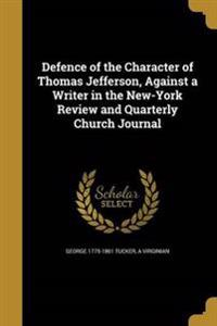 DEFENCE OF THE CHARACTER OF TH