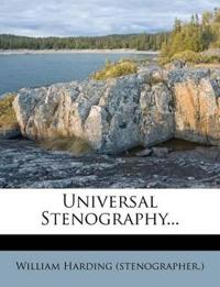 Universal Stenography...