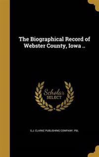 BIOGRAPHICAL RECORD OF WEBSTER