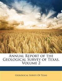 Annual Report of the Geological Survey of Texas, Volume 2