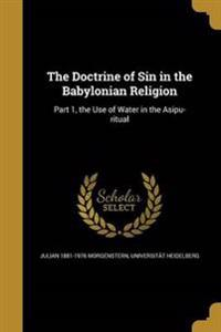 DOCTRINE OF SIN IN THE BABYLON