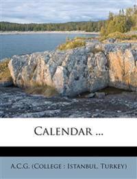 Calendar ...