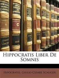 Hippocratis Liber de Somnis