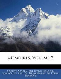 Mémoires, Volume 7