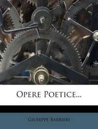 Opere Poetice...