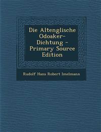 Die Altenglische Odoaker-Dichtung