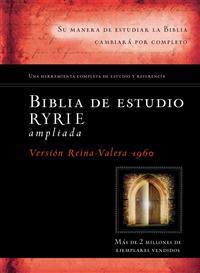 New Ryrie Study Bible-Rvr 1960