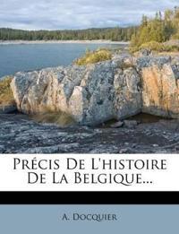 Précis De L'histoire De La Belgique...