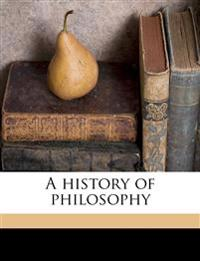 A history of philosophy Volume 2