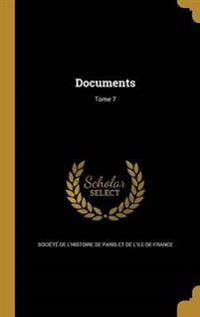FRE-DOCUMENTS TOME 7