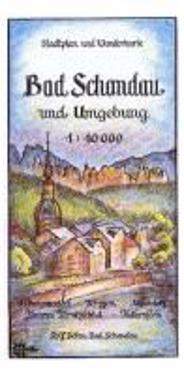 Bad Schandau und Umgebung 1 : 10 000