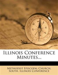 Illinois Conference Minutes...