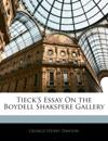 Tieck'S Essay On the Boydell Shakspere Gallery