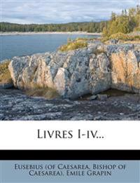 Livres I-IV...