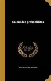 FRE-CALCUL DES PROBABLILITES