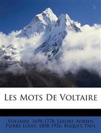 Les Mots De Voltaire