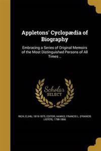 APPLETONS CYCLOPAEDIA OF BIOG