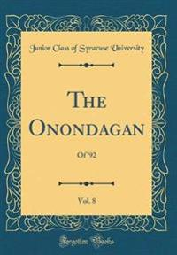 The Onondagan, Vol. 8