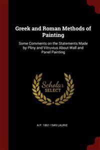 GREEK AND ROMAN METHODS OF PAINTING: SOM