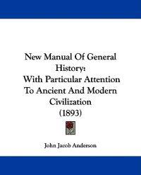 New Manual of General History